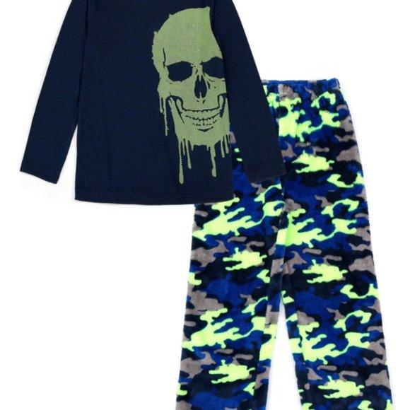 Boys 4-18 & Husky 2-Piece Pajama Set